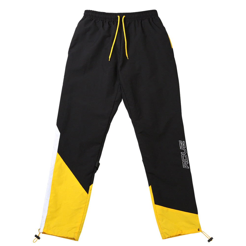 랑데부 DIAGONAL 3.0 WINDPANTS BLACK