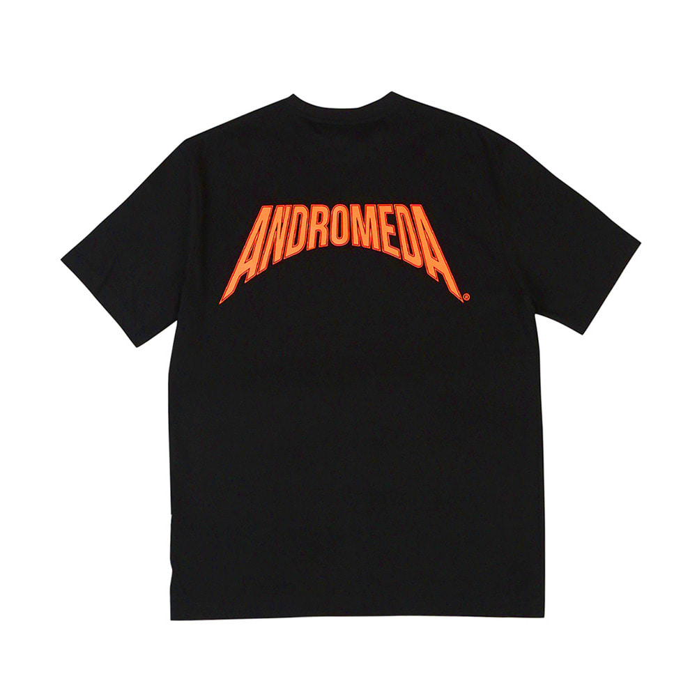 랑데부 ANDROMEDA T-SHIRTS BLACK