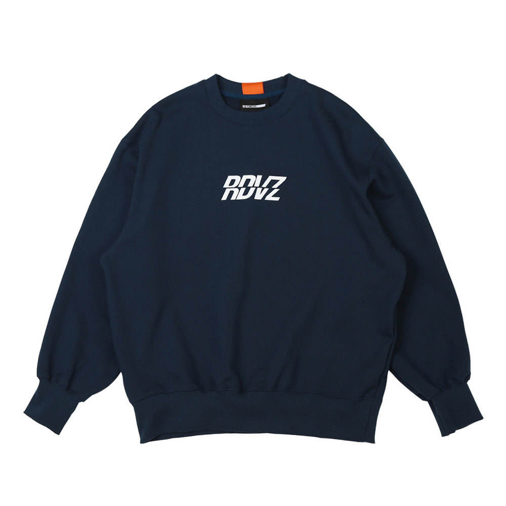 랑데부 RDVZ SWEAT TOP NAVY