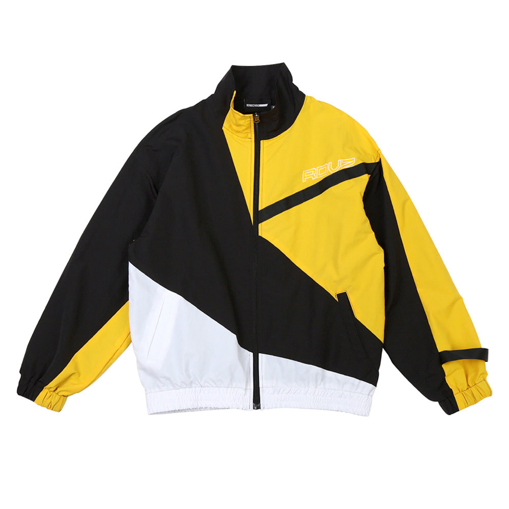 랑데부 DIAGONAL 3.0 WINDBREAKER BLACK