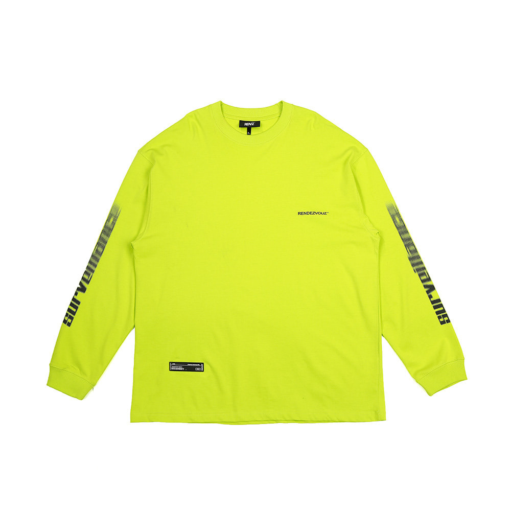랑데부 ARM SURVEIL LONG SLEEVE LIME