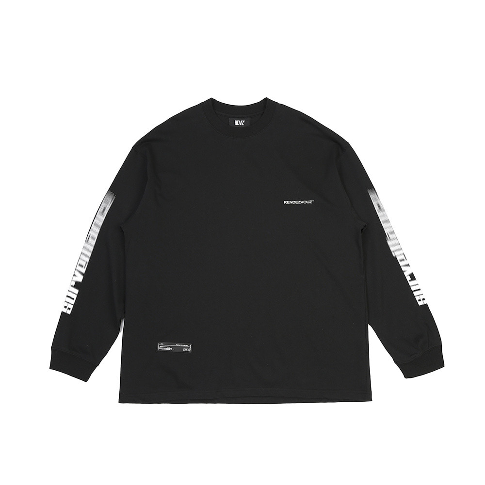 랑데부 ARM SURVEIL LONG SLEEVE BLACK