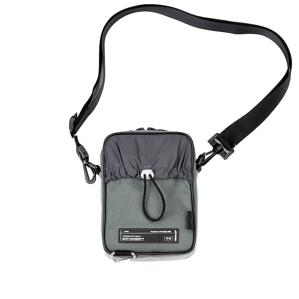 랑데부 CORDURA® SIDE BAG GREY