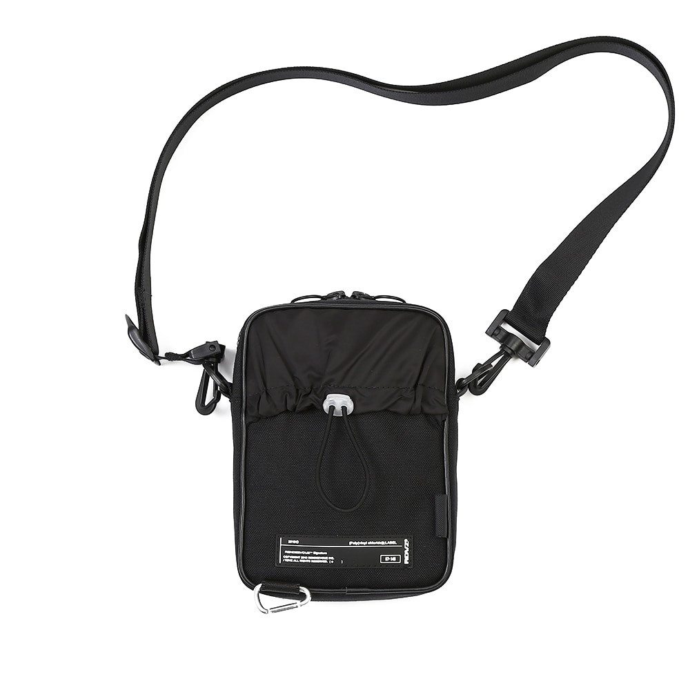 랑데부 CORDURA® SIDE BAG BLACK