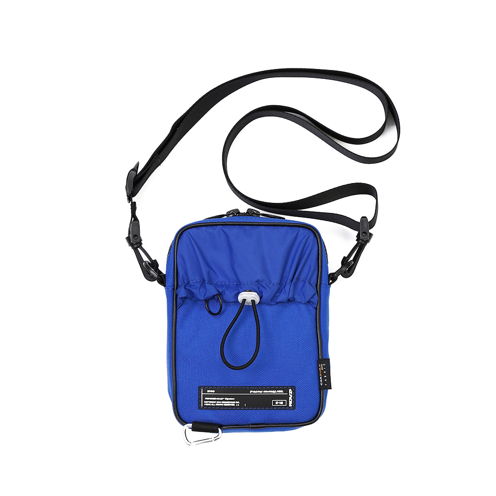 랑데부 CORDURA® SIDE BAG BLUE