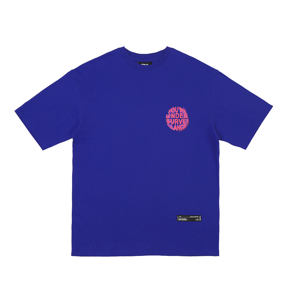 랑데부 CIRCLE LOGO T-SHIRTS PURPLE
