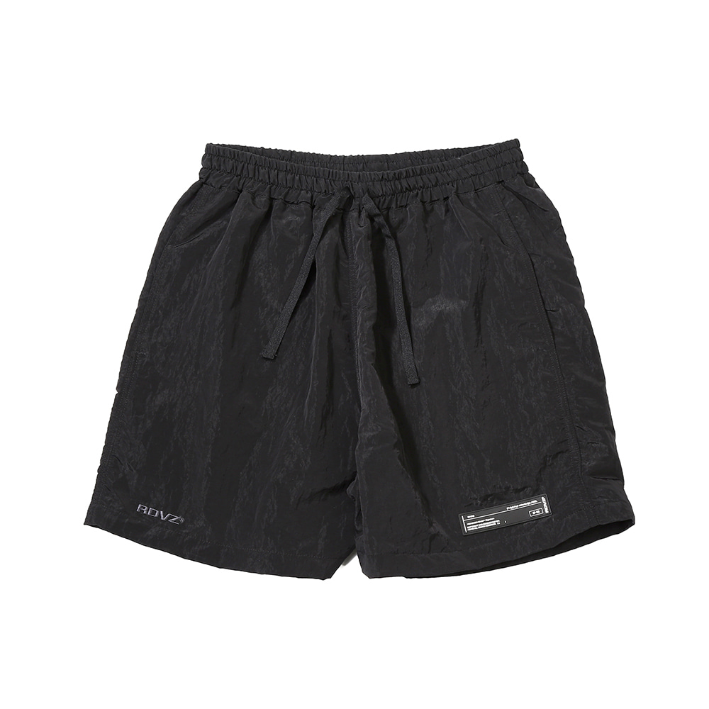 랑데부 METALLIC SURF SHORT BLACK
