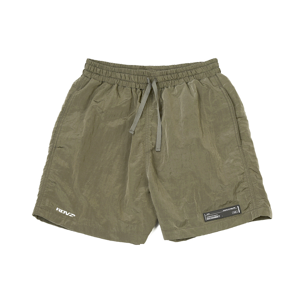 랑데부 METALLIC SURF SHORT OLIVE
