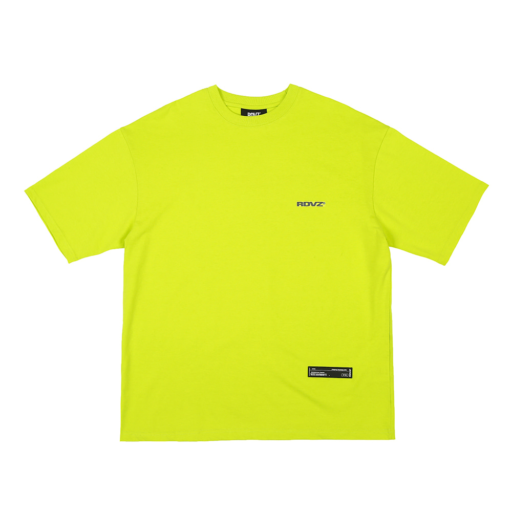 랑데부 SURVEILLANCE T-SHIRTS LIME