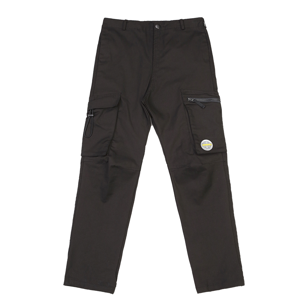 랑데부 MULTI POCKET CARGO PANTS BLACK