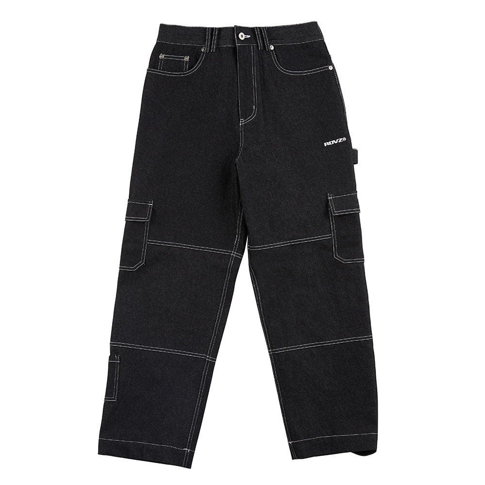 랑데부 STITCH POINT DENIM PANTS