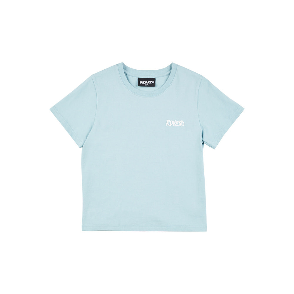 랑데부 FOAMING LOGO T-SHIRT MINT