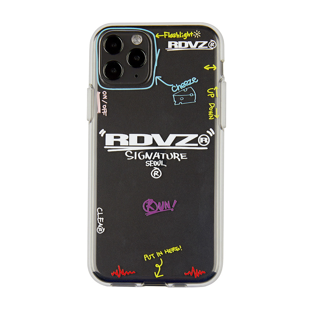 랑데부 SIGNATURE LOGO JELLY CASE