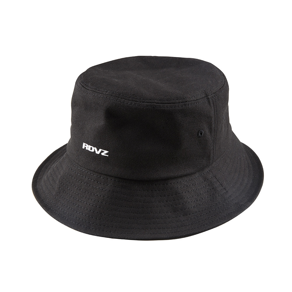 랑데부 STRING BUCKET HAT BLACK