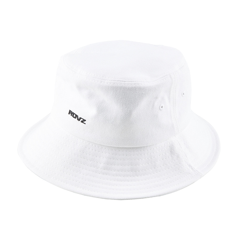랑데부 STRING BUCKET HAT WHITE