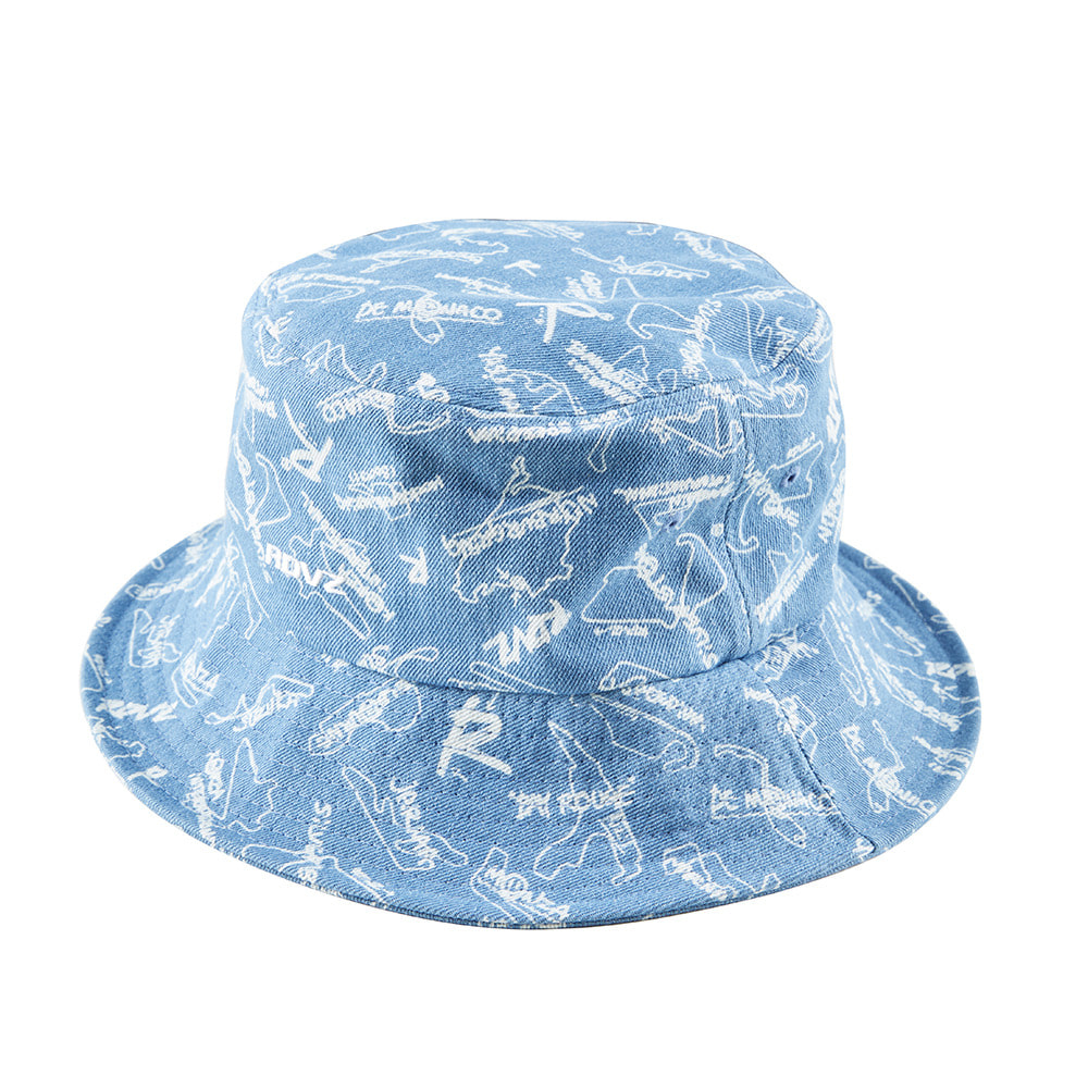 랑데부 STRING BUCKET HAT DENIM