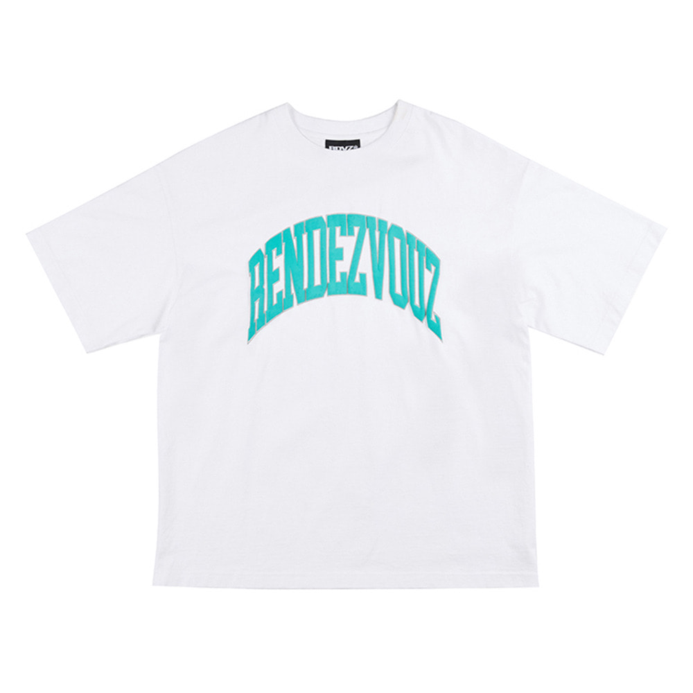 랑데부 (7월 3일 순차발송)ARCH FOAMING PRINT T-SHIRT WHITE