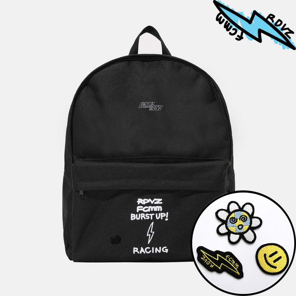 랑데부 VICTORY SMALL LOGO BACKPACK