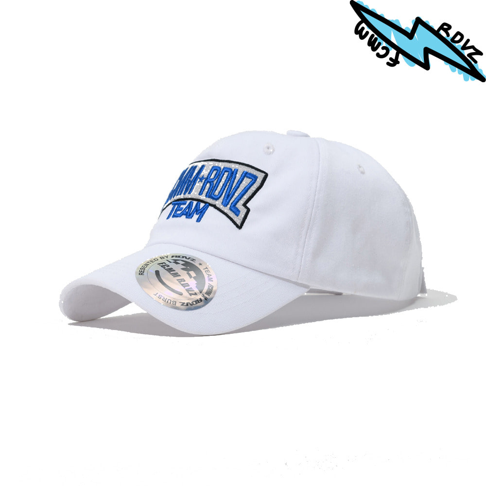 랑데부 RACING TEAM BALLCAP WHITE