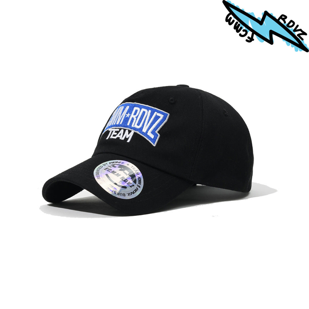 랑데부 RACING TEAM BALLCAP BLACK