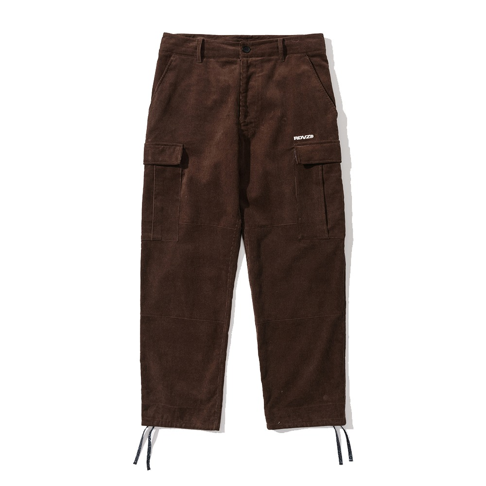 랑데부 PALSELY CORDUROY PANTS BROWN