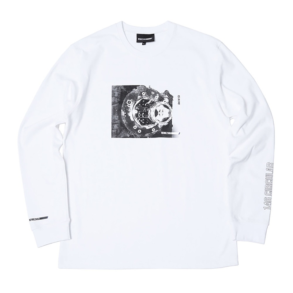 랑데부 Docking Long Sleeve White