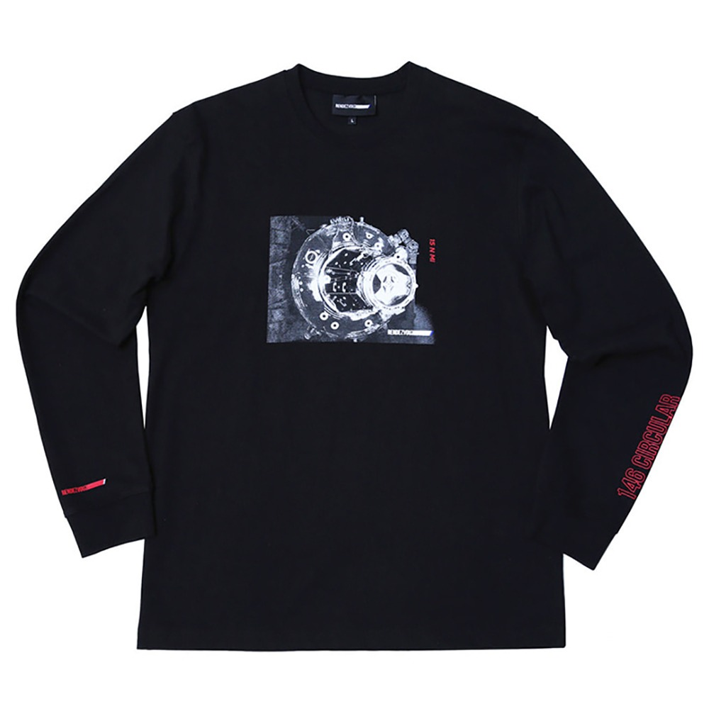 랑데부 Docking Long Sleeve Black