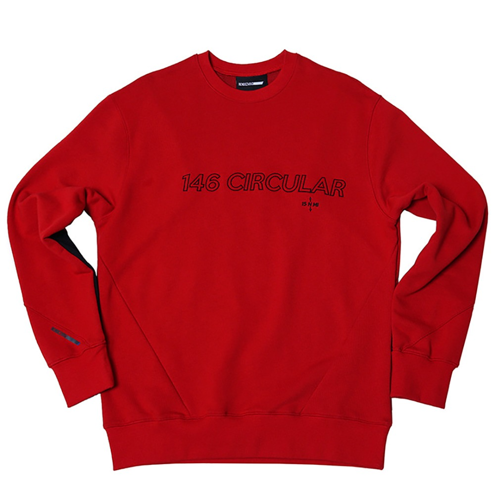 랑데부 146Circular Sweat Top Red