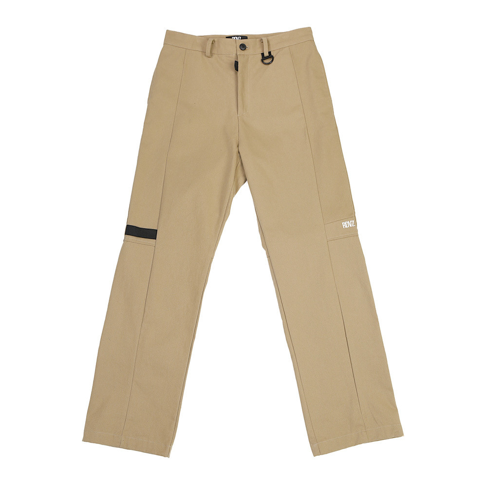 랑데부 TAPE DECO WORK PANTS BEIGE